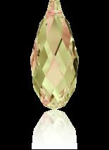 Crystal Luminous Green 13x6.5mm