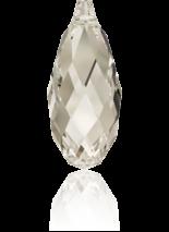 Crystal Silver Shade 13x6.5mm