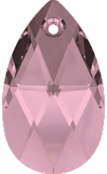 Crystal Antique Pink 22mm