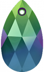 Crystal Scarabaeus Green 16mm