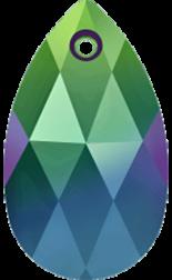 Crystal Scarabaeus Green 22mm
