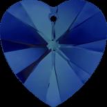 Crystal Bermuda Blue P 18x17.5mm
