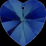 Crystal Bermuda Blue 18x17.5mm