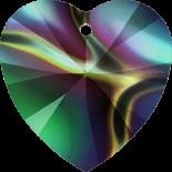 Crystal Rainbow Dark 18x17.5mm