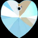 Light Sapphire Shimmer 18x17.5mm