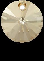 Crystal Golden Shadow 6mm